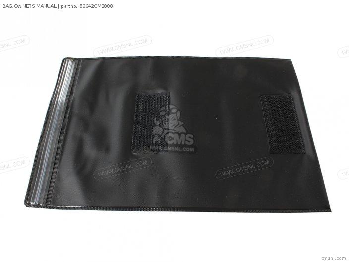 Bag, Owners Manual photo