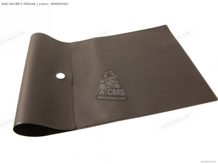 Bag, Owner's Manual photo