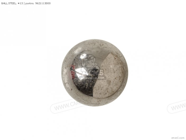BALL,STEEL, #13