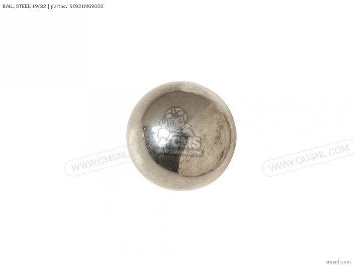 BALL,STEEL,19/32