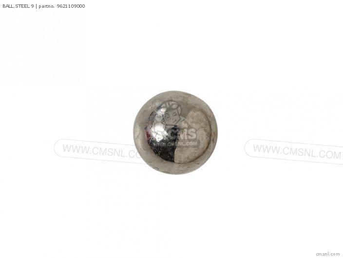 BALL,STEEL 9