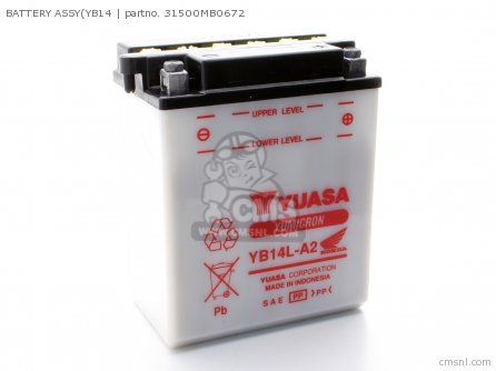 Battery Assy(yb14 photo