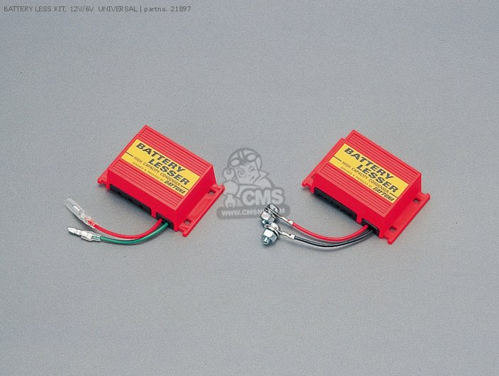 Battery Less Kit, 12v/6v  Universal photo