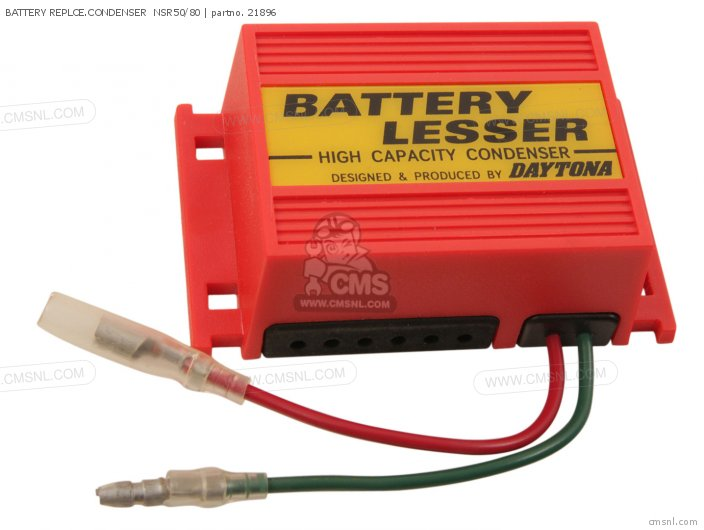 Battery Replce.condenser  Nsr50/80 photo