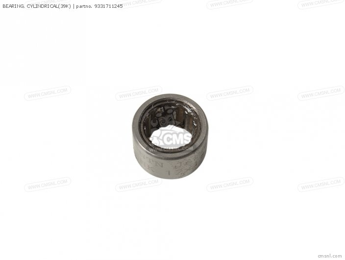 BEARING  CYLINDRICAL39K