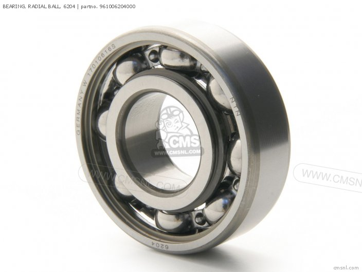 BEARING  RADIAL BALL  6204