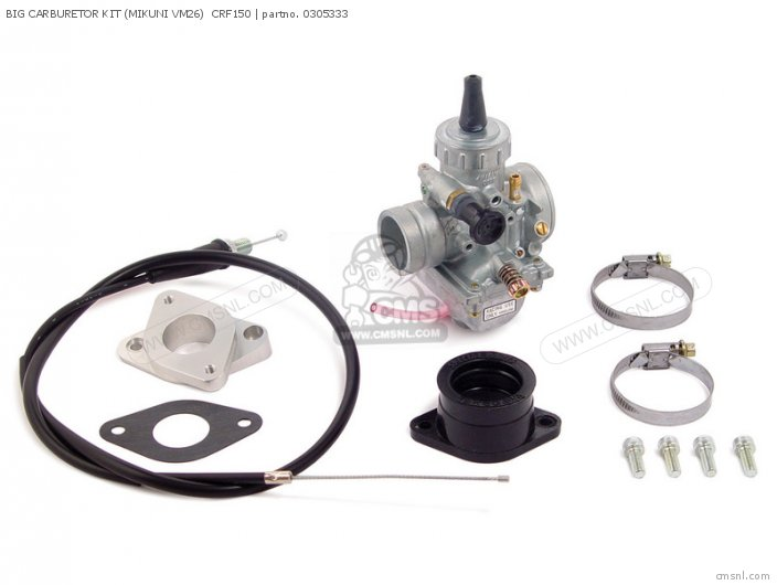 BIG CARBURETOR KIT (MIKUNI VM26)  CRF150