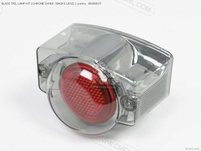 Blaze Tail Lamp Kit (chrome Inner /smoke Lenz) photo