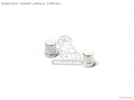 BLIND PLUG MONKEY ,GORILLA (SPECIAL CLUTCH FOR KICK)