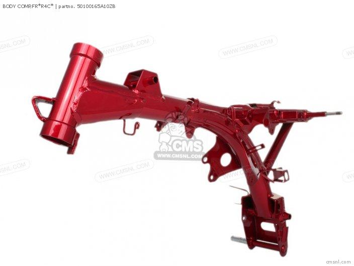 honda zjy monkey japan body frame  schematic partsfiche, schematic