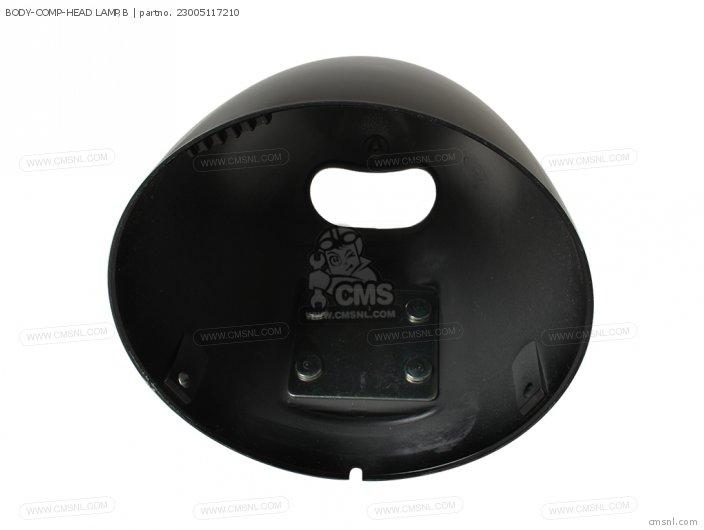 BODY-COMP-HEAD LAMP,B