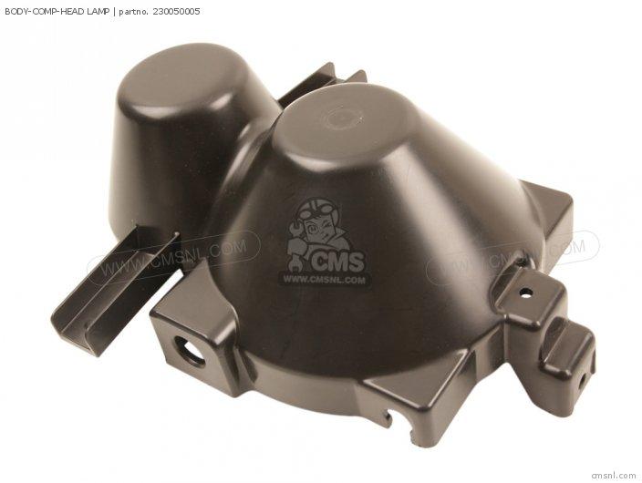 BODY-COMP-HEAD LAMP