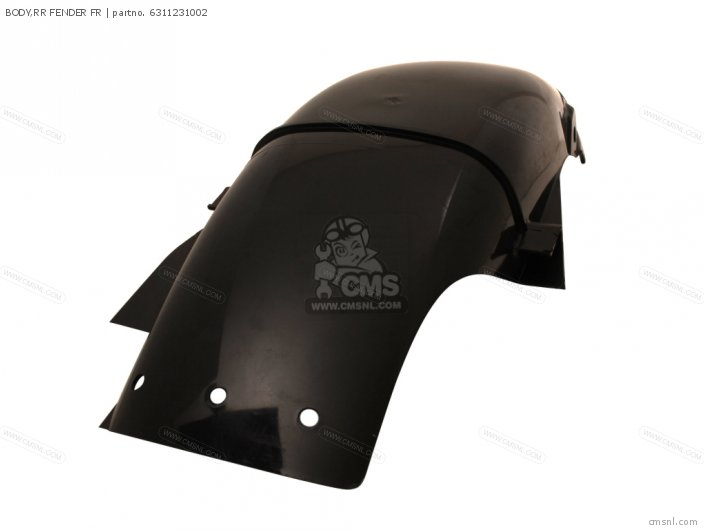 BODY REAR FENDER FRONT