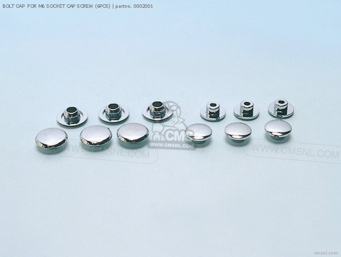 BOLT CAP FOR M6 SOCKET CAP SCREW (6PCS)