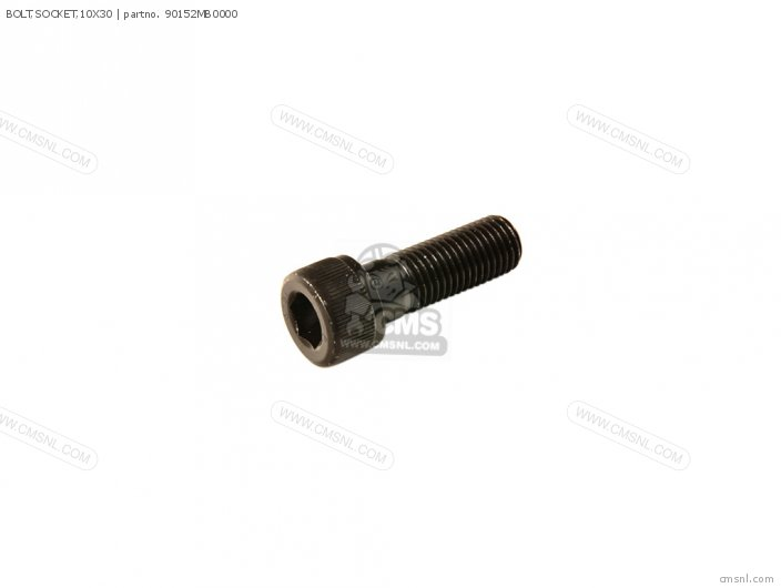 BOLT,SOCKET,10X30