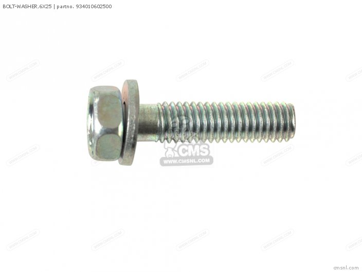 BOLT-WASHER,6X25