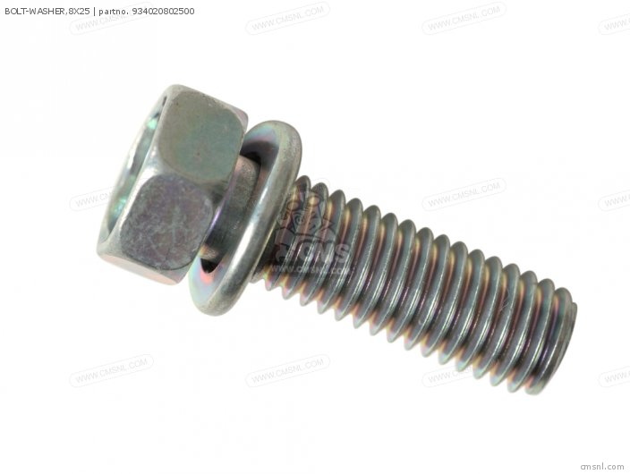 BOLT-WASHER,8X25