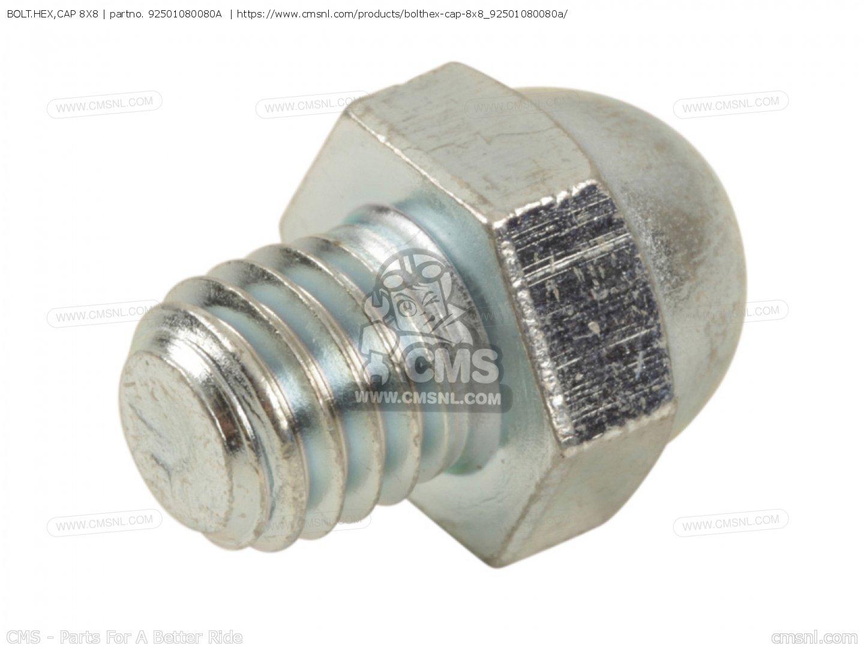 8X8 HONDA 92501-08008-0A BOLT CAP