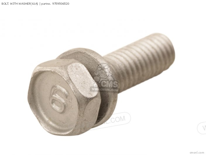 Bolt, With Washer(61a) photo