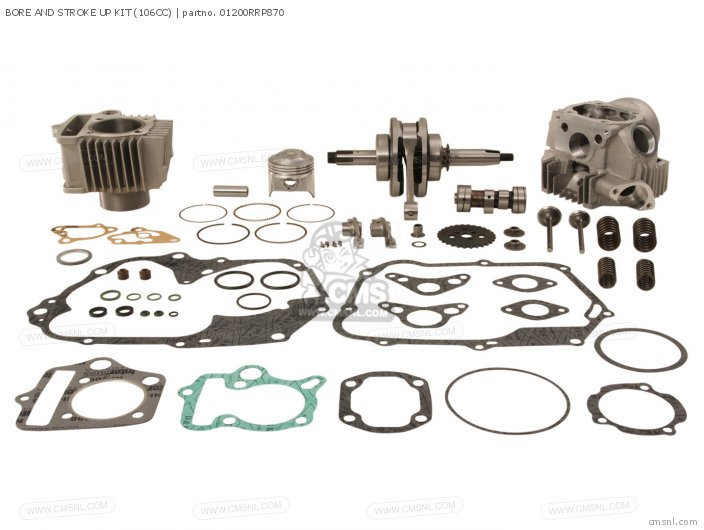 Bore And Stroke Up Kit (106cc) photo