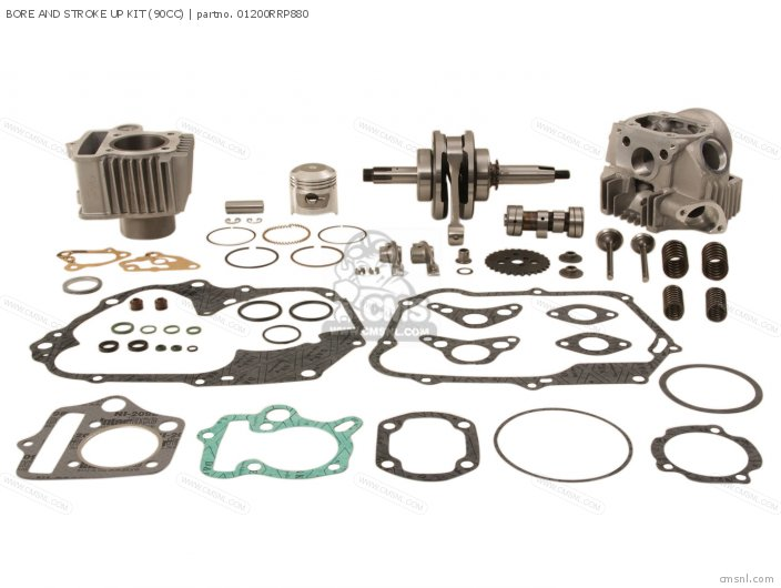 Bore And Stroke Up Kit (90cc) photo