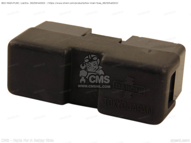 box main fuse for trx250 fourtrax 250 1985 f usa order. Black Bedroom Furniture Sets. Home Design Ideas