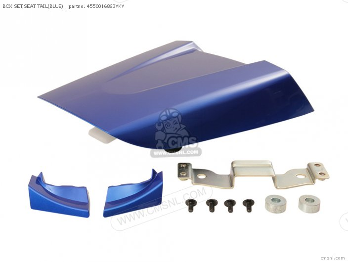 BOX SET,SEAT TAIL(BLUE)