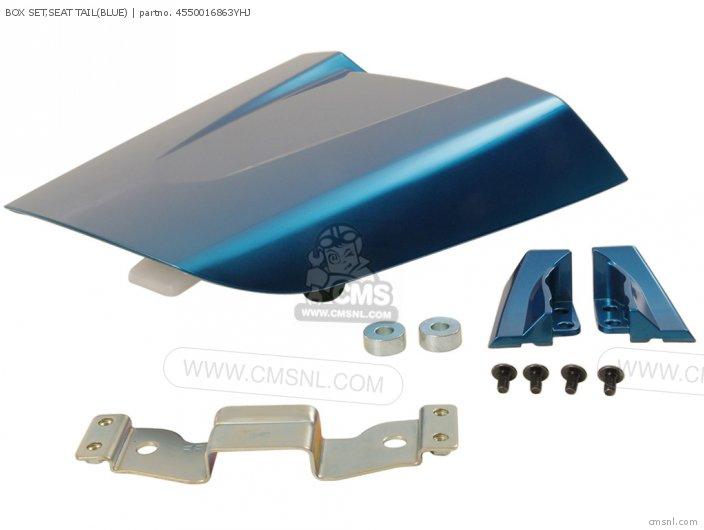 Box Set, Seat Tail(blue) photo