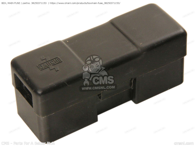 Box Main Fuse Fits Gl1000 Goldwing 1976 Usa Order At Cmsnl Photo