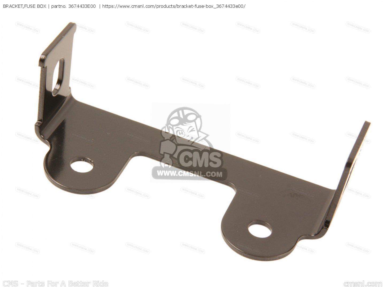 bracketfuse box_big3674433E00 02_454a bracket,fuse box tl1000r 2000 (y) 3674433e00