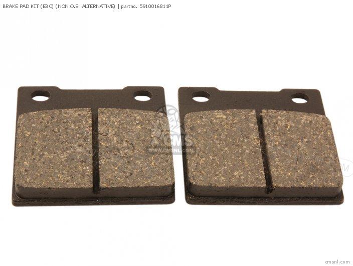 Brake Pad Kit (ebc) (non O.e. Alternative) (nas) photo