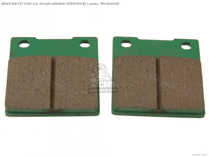 Brake Pad Kit (non O.e. Kevlar Japanese Alternative) (nas) photo