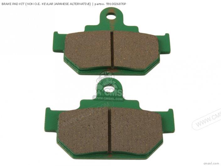 Brake Pad Kit (non O.e. Kevlar Japanese Alternative) (nas) photo