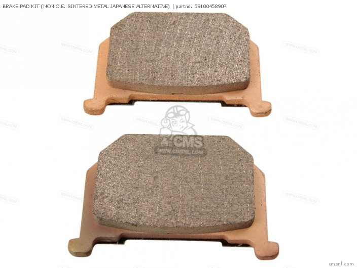 Brake Pad Kit (non O.e. Sintered Metal Japanese Alternative) (na photo