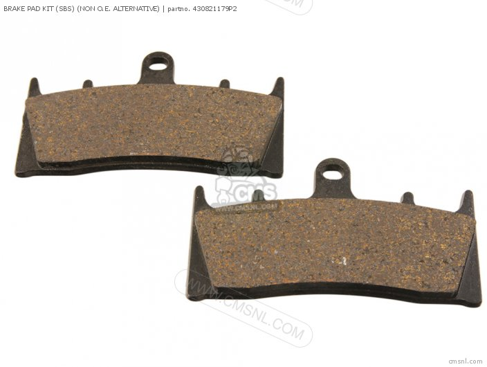 Brake Pad Kit (sbs) (non O.e. Alternative) (nas) photo