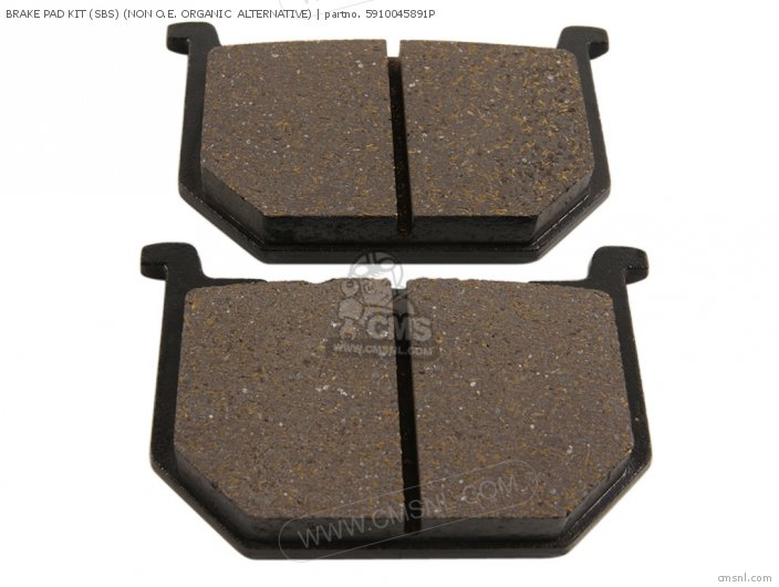 Brake Pad Kit (sbs) (non O.e. Organic  Alternative) (nas) photo