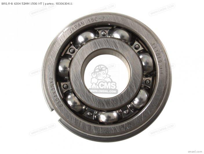 BRG R-B 6304 52MM 150G NT