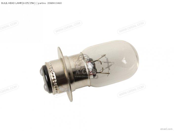 BULB, HEAD LAMP(6V25/25W)