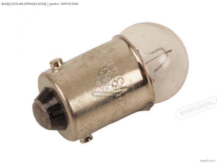 Bulb(12v3.4w, Stanley, A72a) photo