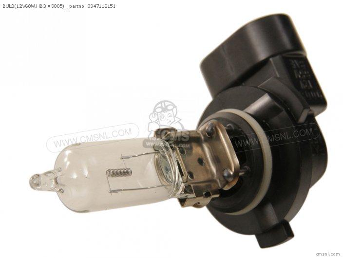 Bulb(12v60w, Hb3, #9005) photo