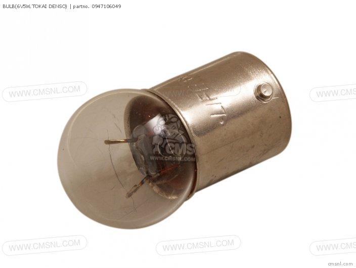 Bulb(6v5w, Tokai Denso) photo