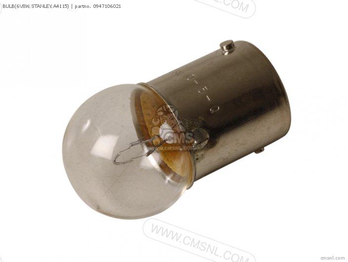 Bulb(6v8w, Stanley, A4115) photo