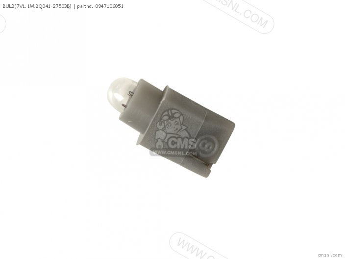 Bulb(7v1.1w, Bq041-27503b) photo