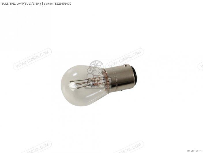 Bulb, Tail Lamp(6v17/5.3w) photo