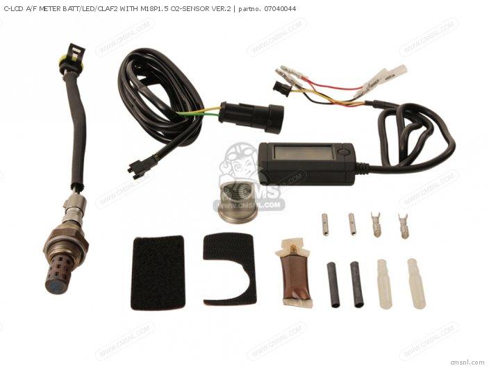 C-LCD A/F METER BATT/LED/CLAF2 WITH M18P1.5 O2-SENSOR VER.2