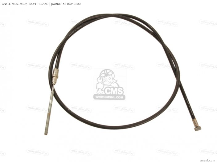 Cable Assembly, Front Brake photo