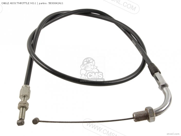 Cable Assy, Throttle No.1 photo
