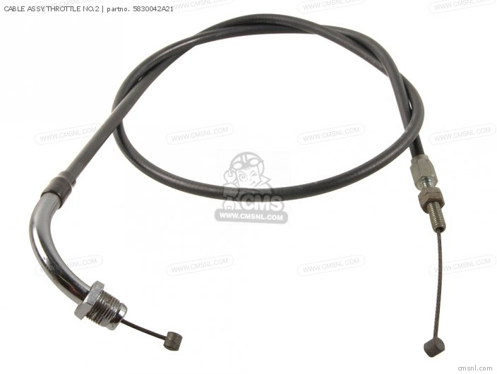 Cable Assy, Throttle No.2 photo