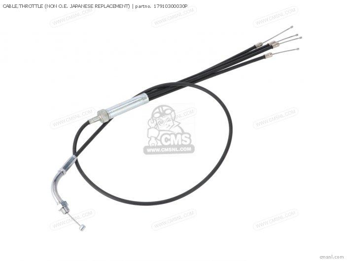 17910300030 cable throttle honda