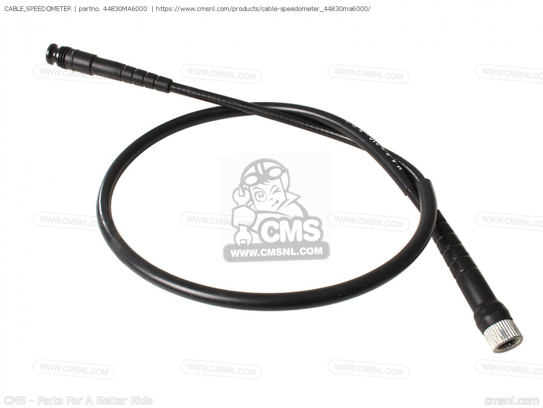 SPEEDOMETER HONDA 44830-MG7-000 CABLE